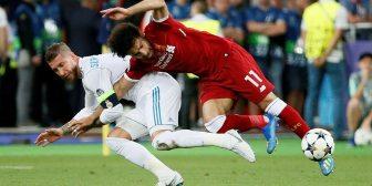 Sergio Ramos, el apuntado en las redes sociales tras la lesión de Mohamed Salah