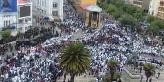 Convocan a marcha de 'mandiles blancos' justicia por la muerte de universitario