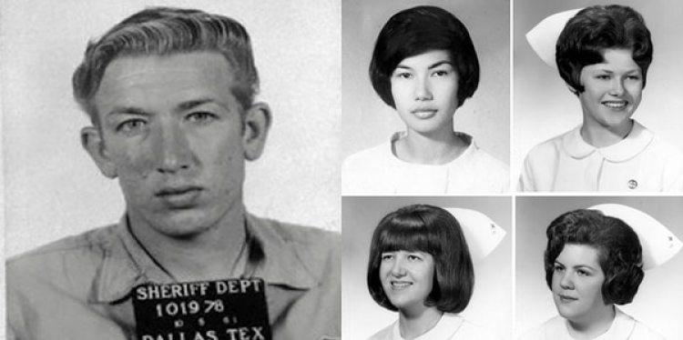 Richard Benjamin Speck y cuatro de sus víctimas