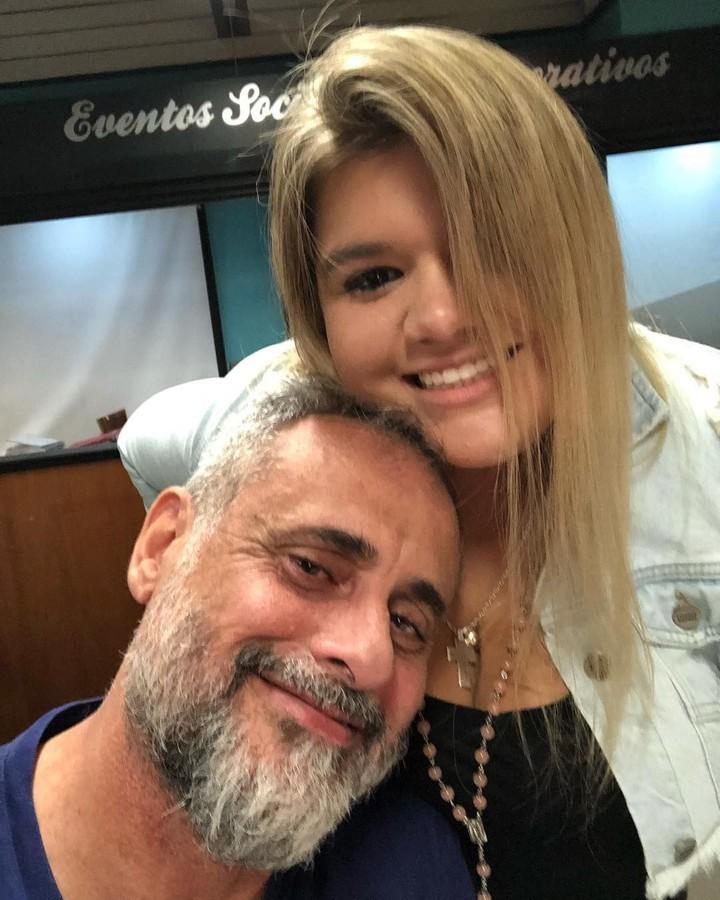 Jorge y Morena en una foto de hace varios meses. (Instagram)