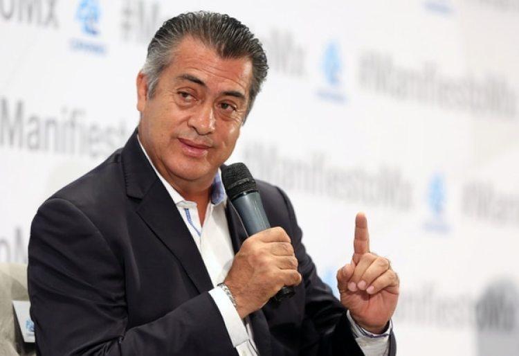 """Jaime Rodriguez Calderon""""El Bronco"""" durante un evento de la Confederación Patronal de la República Mexicana (COPARMEX) en MexicoDF (REUTERS/Gustavo Graf)"""