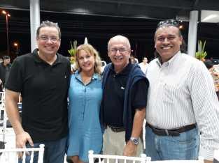 Ruben Barbery, Claudia Salmon, Lalo Chávez y Juan Carlos Justiniano
