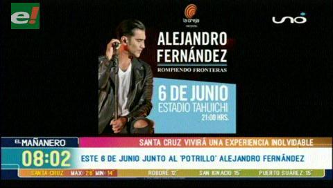 Alejandro Fernández quiere conquistarte Rompiendo Fronteras