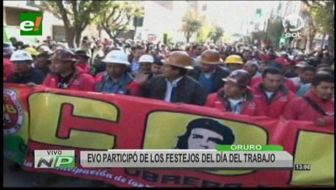 Evo Morales promulga decreto de incremento salarial