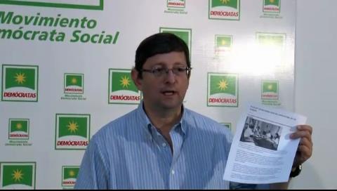 Senador Ortiz: Morales evaluó propuesta de Kronopios un mes antes de lanzarse la convocatoria