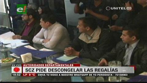 Gobernación cruceña exige descongelamiento inmediato de regalías tras recibir informe de estudio de Incahuasi