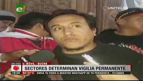 Sucre: Sectores determinan realizar vigilias para defender el Incahuasi tras cabildo