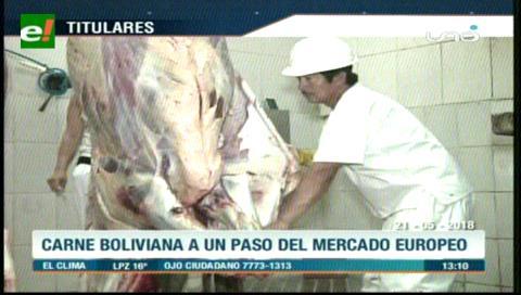 Video titulares de noticias de TV – Bolivia, mediodía del lunes 21 de mayo de 2018