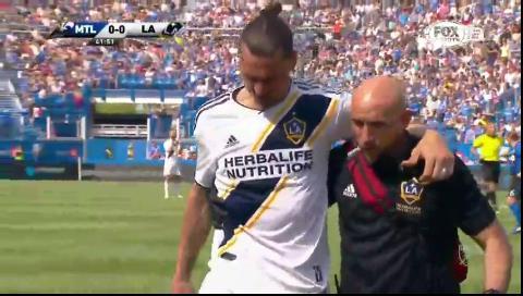 La vergonzosa expulsión de Zlatan Ibrahimovic en la MLS