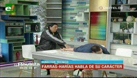 Humor: Farras-Harías habló de su carácter y terminó «agrediendo» a Ronico