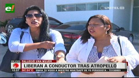 Chofer que arrolló y mató a una mujer es liberado con medidas sustitutivas