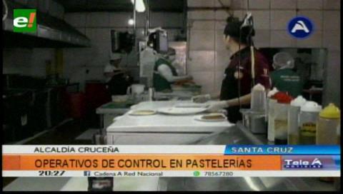 Control de pastelerías en Santa Cruz
