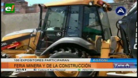 Ferias de la Minería y la Construcción arrancan en Potosí