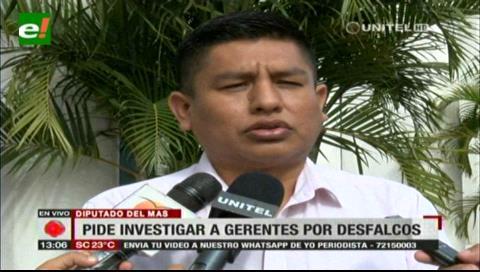 Diputado Cabrera pide a gerentes del Unión someterse a investigación por desfalco