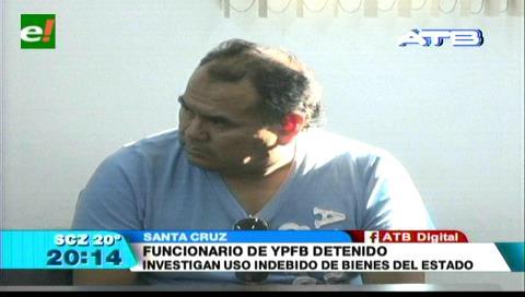 Funcionario de YPFB fue detenido por usar un vehículo oficial fuera de horario