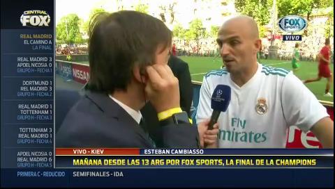 """Esteban Cambiasso: """"A veces a Zidane lo maltratan"""""""