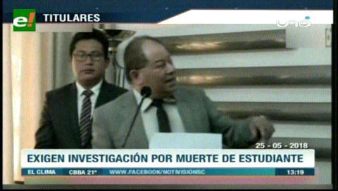 Video titulares de noticias de TV – Bolivia, mediodía del viernes 25 de mayo de 2018