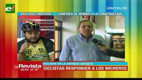 Ciclistas critican a Guerrero y aclaran que hay proyecto de conexión ciclovial en Santa Cruz