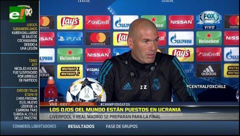 "Zidane: ""Cristiano Ronaldo vive por jugar estos partidos"
