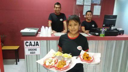 Gilda Jaldin, Ariel Mendoza y Edison Luis