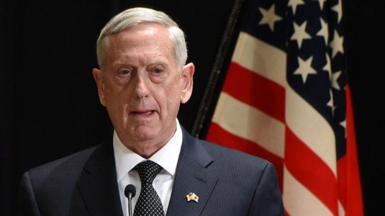 El secretario de Defensa de los Estados Unidos, Jim Mattis.