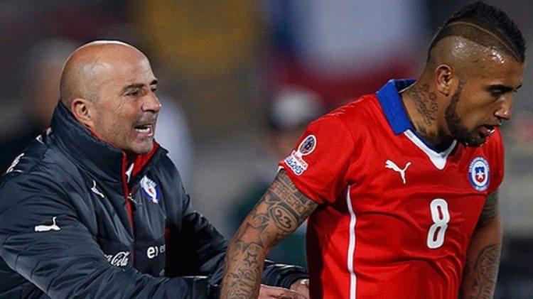 Vidal tiene entre sus princiaples cancidatos a la selección que maneja Jorge Sampaoli