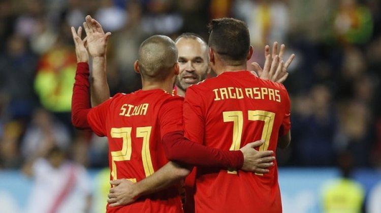 España llega como una de las favoritas a quedarse con el Mundial de Rusia (Foto: EFE)