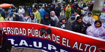Cívicos de Potosí y el Conamaq se adhieren al pedido de renuncia de ministro Romero