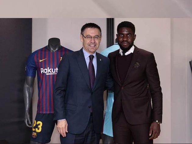 samuel umtiti renueva con el barcelona hasta junio de 2023