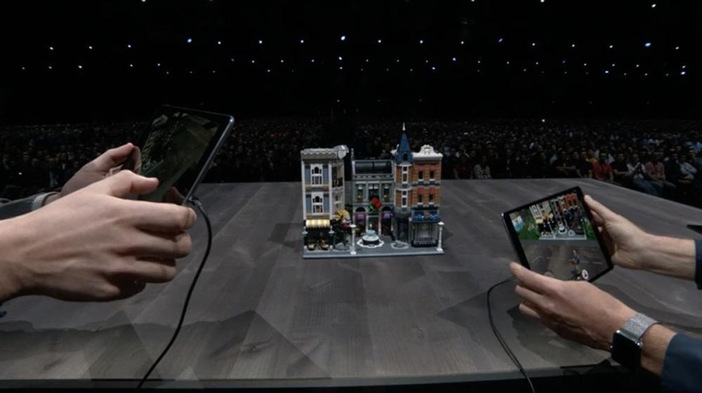 App de realidad aumentada como novedades de iOS 12