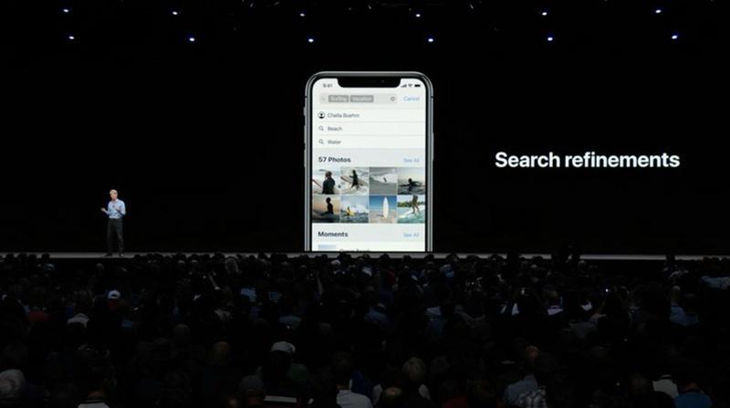 Mejoras de la app de fotos en iOS 12