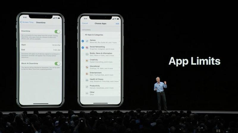 Control del tiempo que pasamos usando apps en iOS 12