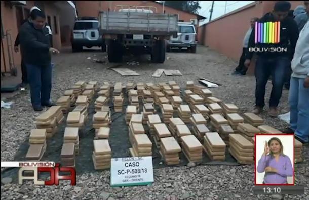 Presuntos narcotraficantes fueron enviados a Palmasola