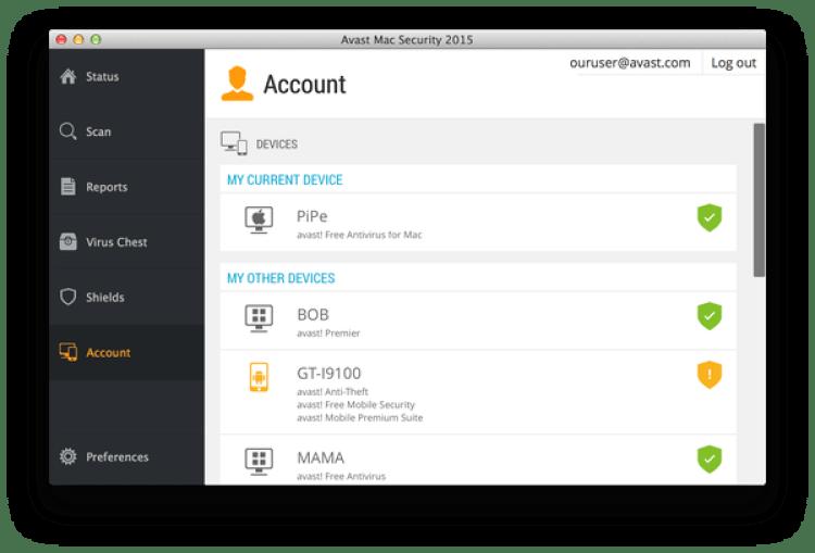 Avast Mac Security es el antivirus gratuito más conocido para las computadoras de Apple.