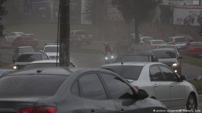 La ciudad de Guatemala luego de la erupción del Volcán de Fuego.(3.06.2018).