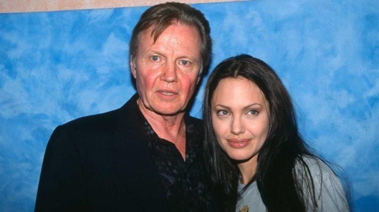 Jon Voight y su hija Angelina Jolie (Grosby Group)