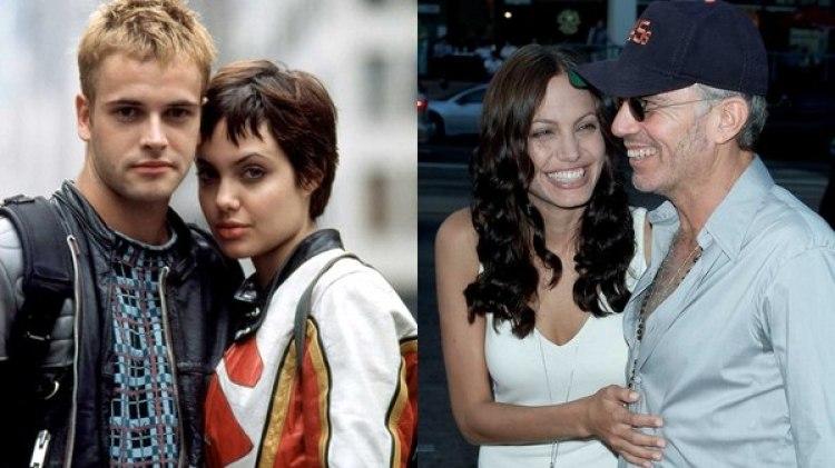 Angelina Jolie estuvo casada con Johnny Lee Miller y Billy Bob Thorton