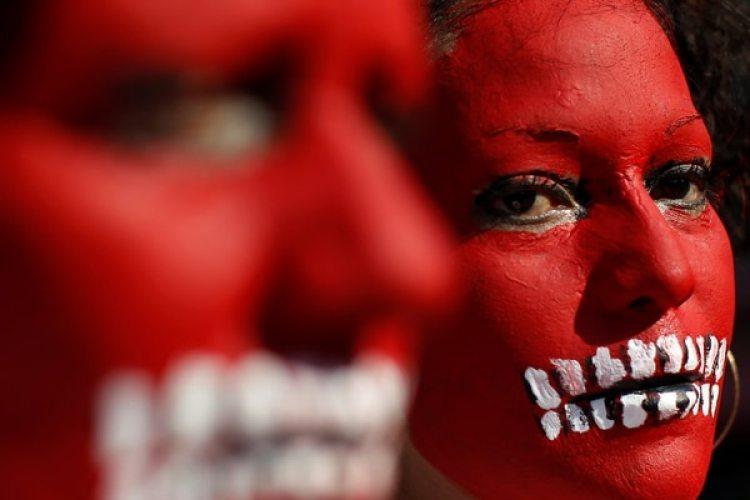 Manifestación para pedir justicia en Ciudad de México (REUTERS/Carlos Jasso)