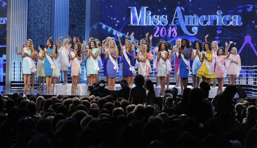 El último certamen de Miss América.
