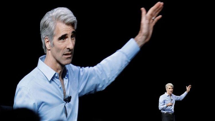Craig Federighi, vicepresidente de Software de Apple (AP Photo/Marcio Jose Sanchez)