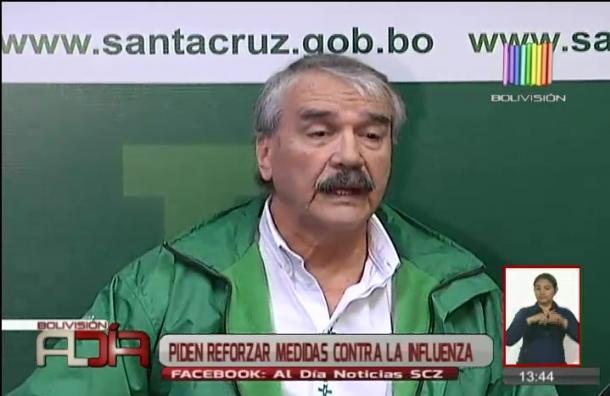 Santa Cruz: Sedes pide reforzar medidas contra la influenza