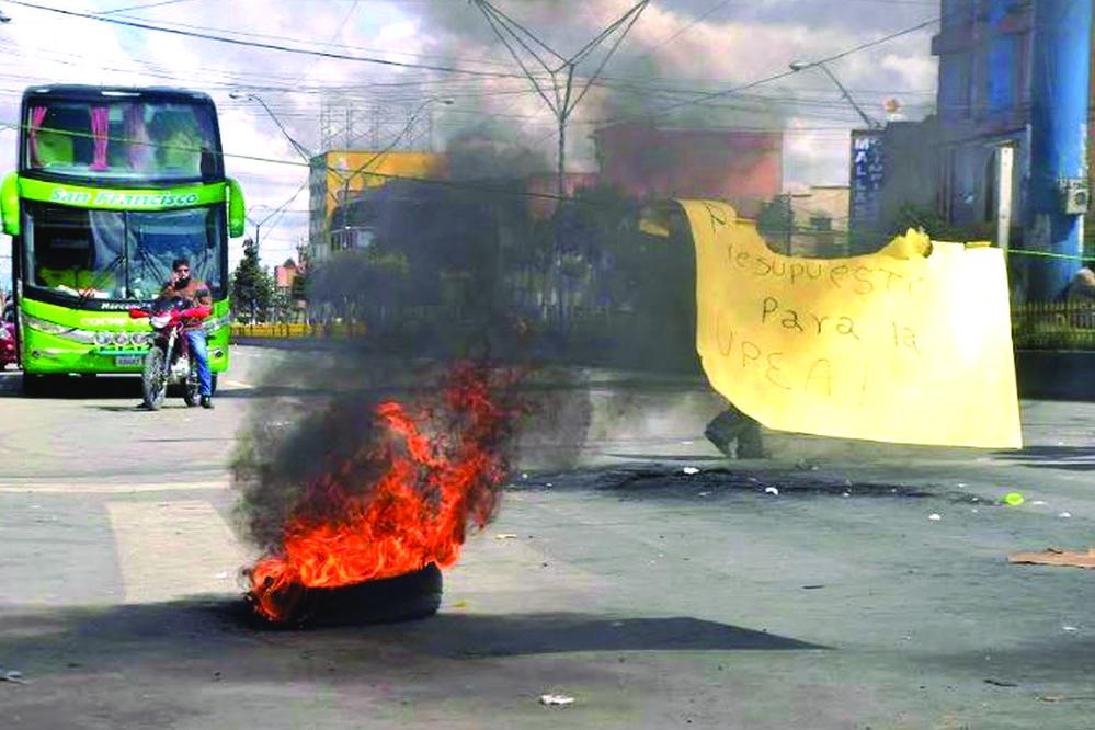 Los sectores sociales del MAS desinflan conflicto de la UPEA
