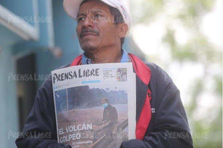 Jorge Hernández Toribio, hijo de Concepción Hernández, fue quien brindó los detalles del fallecimiento en el IGSS.