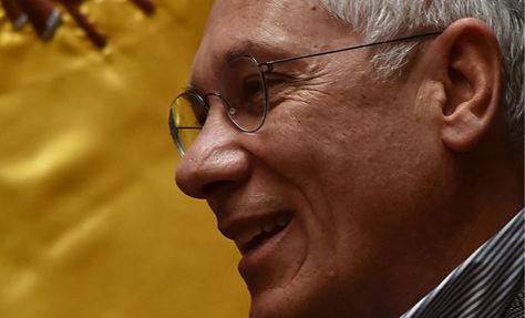 El expresidente y actual agente de Bolivia ante La Haya, Eduardo Rodríguez Veltzé