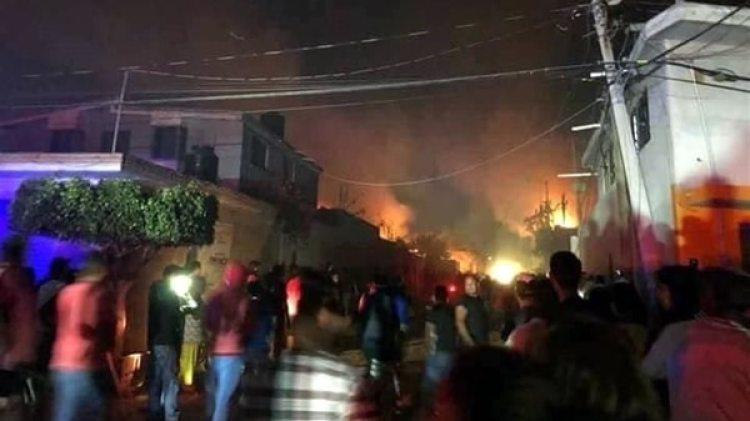 Siete personas murieron en un accidente con pirotecnia en México