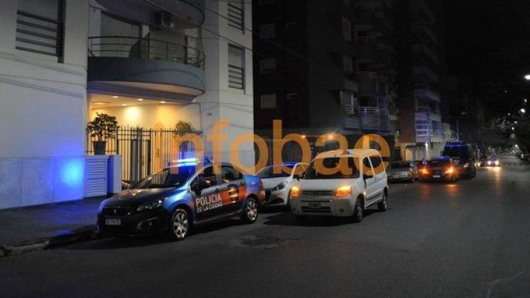 Este es el edificio donde hallaron a Inés Zorreguieta (Fotos: Patricio Murphy)