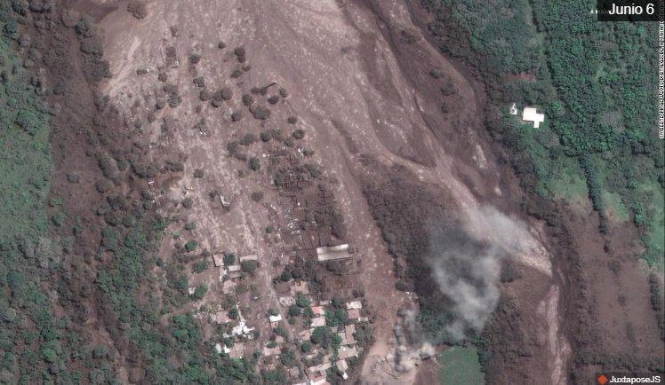 Guatemala reanuda la búsqueda de víctimas de volcán y vigila otro coloso
