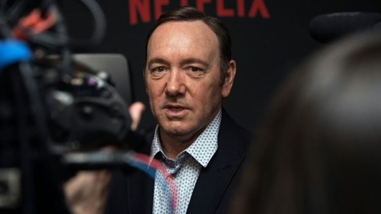Kevin Spacey fue despedido de House of Cards tras las acusaciones en su contra por acoso sexual (AFP)
