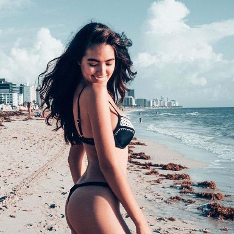 Sharon Fonseca modelo venezolana , radicada en Miami