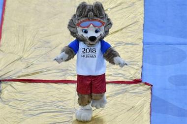 El lobo Zabivaka ganó con el 57% de los votos en 2016